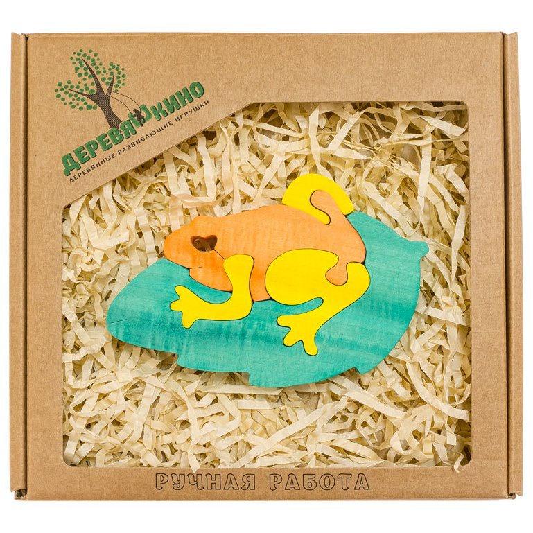 Развивающая игрушка Деревяшкино жаба развивающая игрушка деревяшкино танк