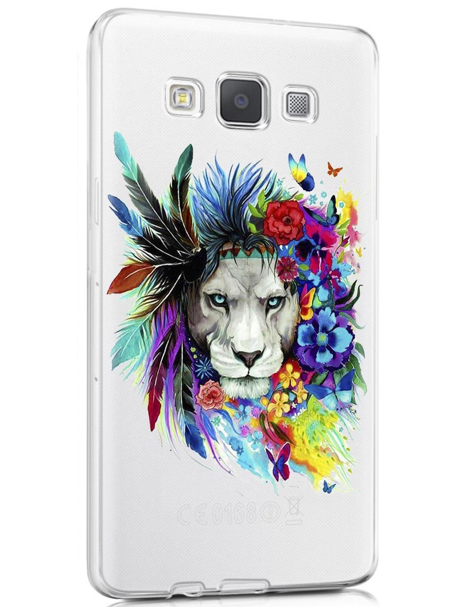 """Чехол для сотового телефона With love. Moscow """"Art design"""" для Samsung Galaxy A5 (2015)"""