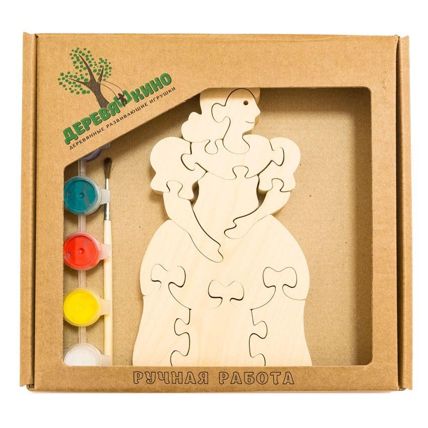 Развивающая игрушка Деревяшкино белоснежка развивающая игрушка деревяшкино танк