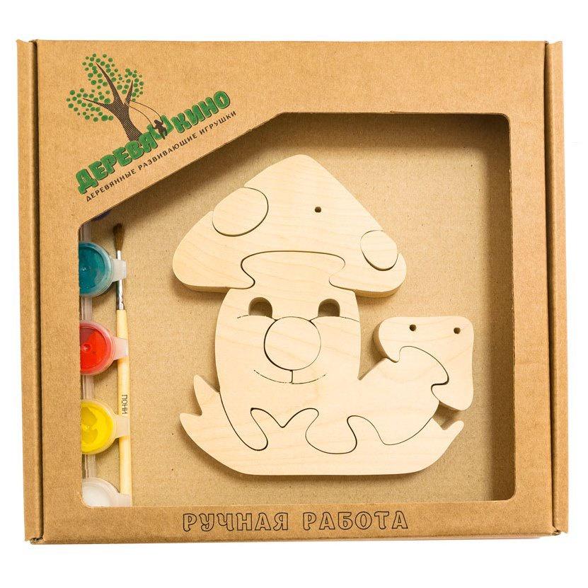 Развивающая игрушка Деревяшкино грибочки развивающая игрушка деревяшкино танк