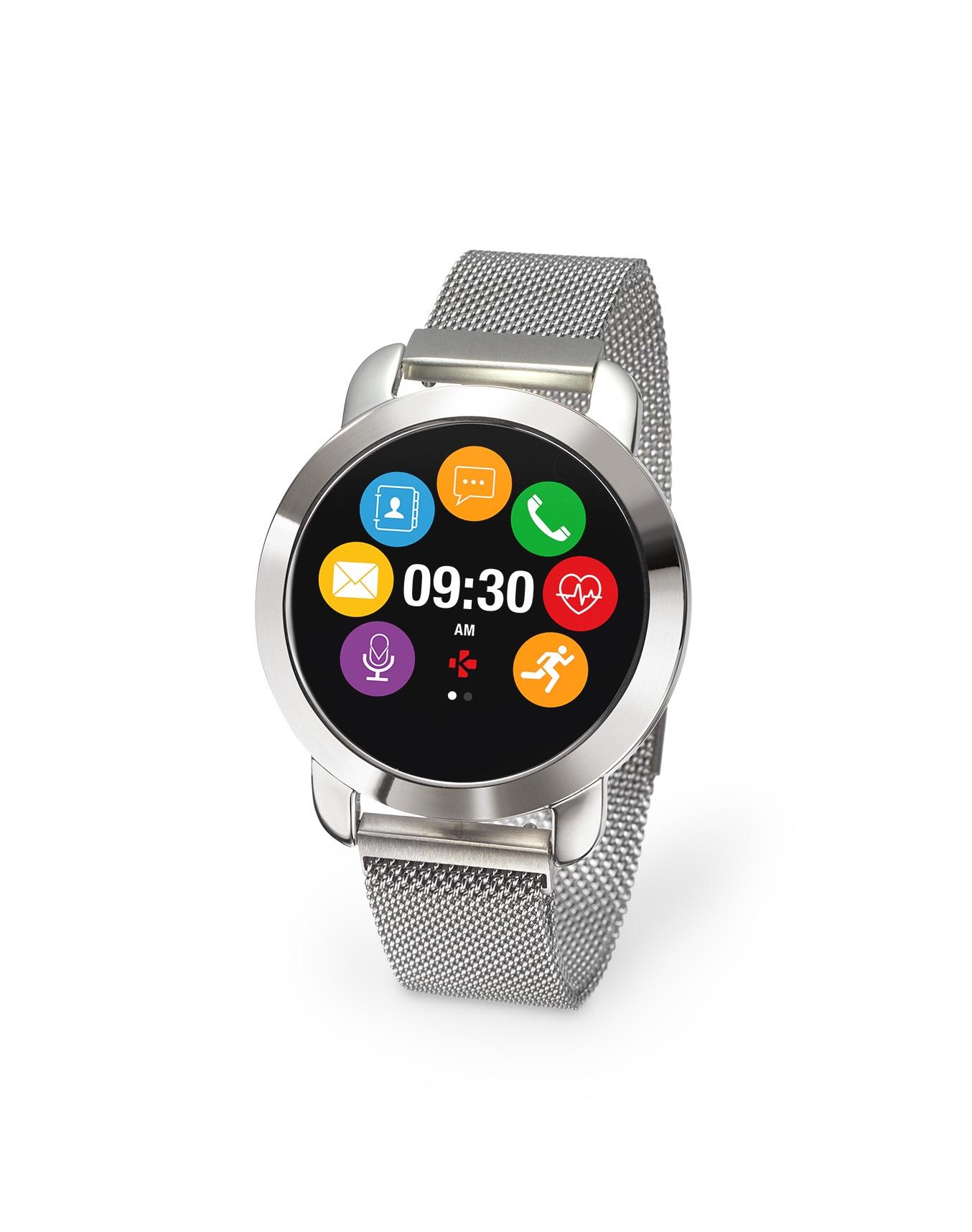 Умные часы MyKronoz Фитнес-трекер ZeCircle2 Premium, 00-00000337, серебристый все цены
