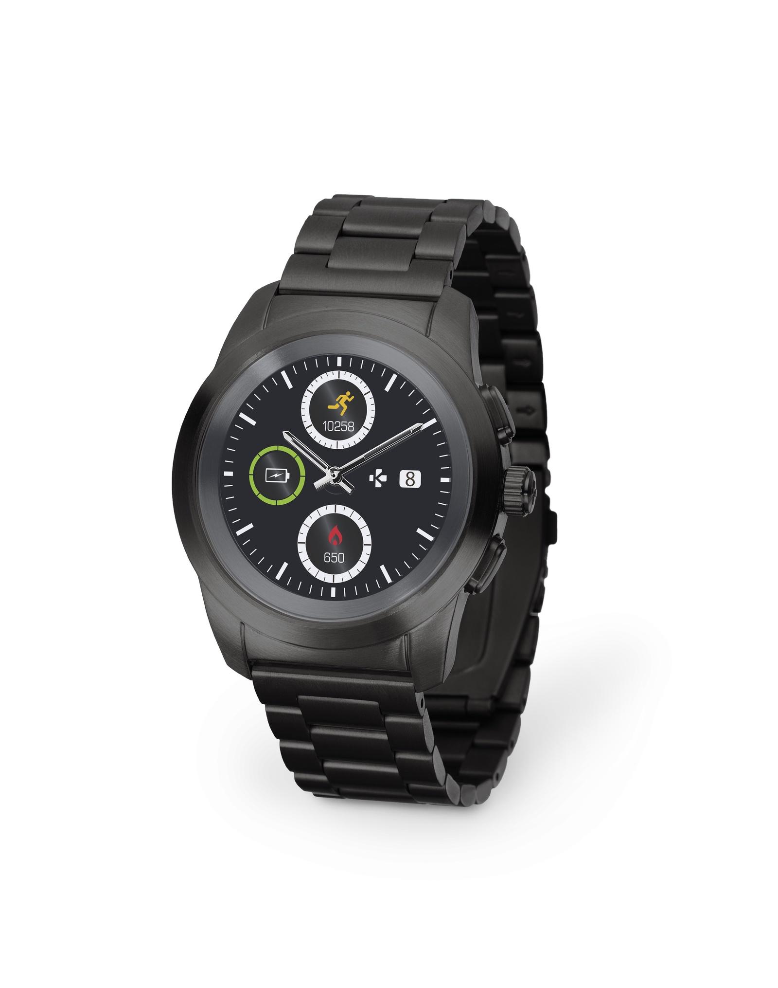 Умные часы MyKronoz Смарт часы гибридные ZeTime Elite Petite, 00-00000351, черный все цены