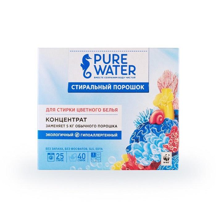 Стиральный порошок Pure water для цветного белья 800 г
