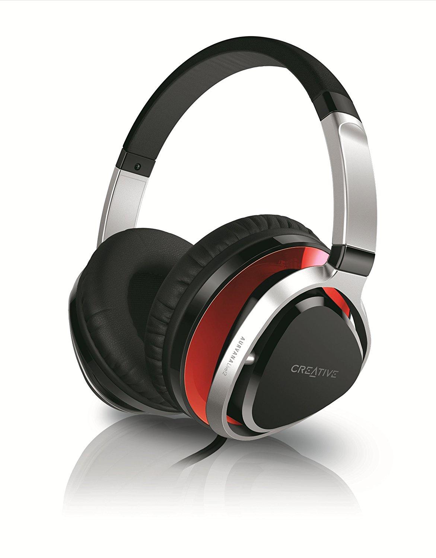 Компьютерная гарнитура Creative AURVANA LIVE!2, Red/Black, 51EF0660AA004, черный, красный creative aurvana in ear2 plus