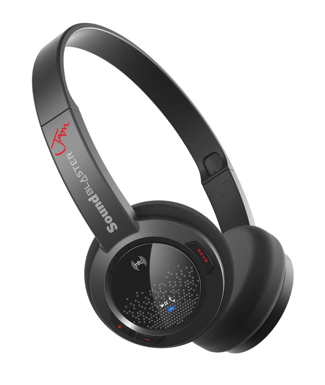 Беспроводные наушники Creative SOUND BLASTER JAM Wireless, черный наушники для ноутбука