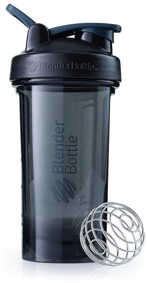 Шейкер спортивный BlenderBottle Pro24 Tritan Full Color, BB-PR24-FCBL, черный, 710 мл шейкер blenderbottle classic full color 591ml pebble grey bb cl20 fpgr