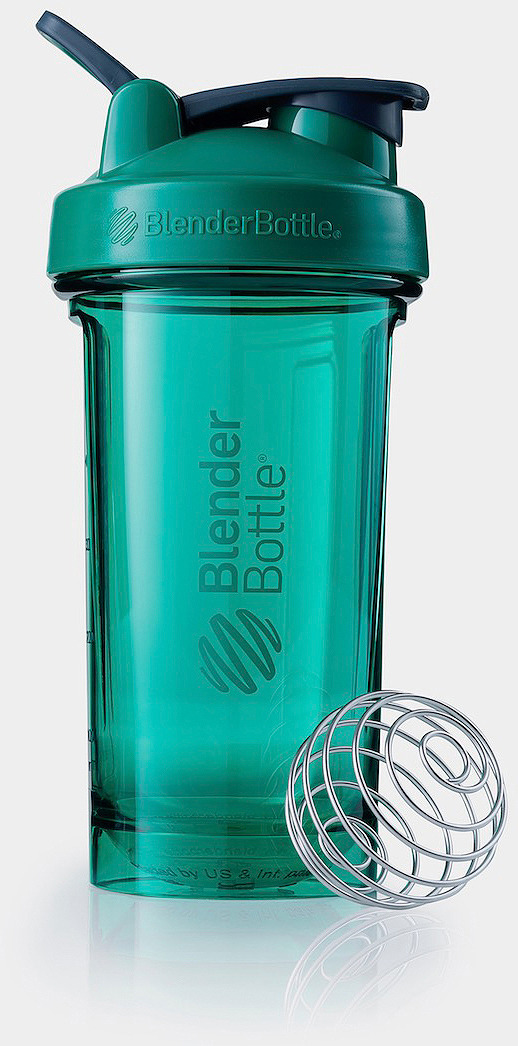 Шейкер спортивный BlenderBottle Pro24 Tritan Full Color, BB-PR24-FCEG, изумруд, 710 мл шейкер blenderbottle classic full color 591ml pebble grey bb cl20 fpgr
