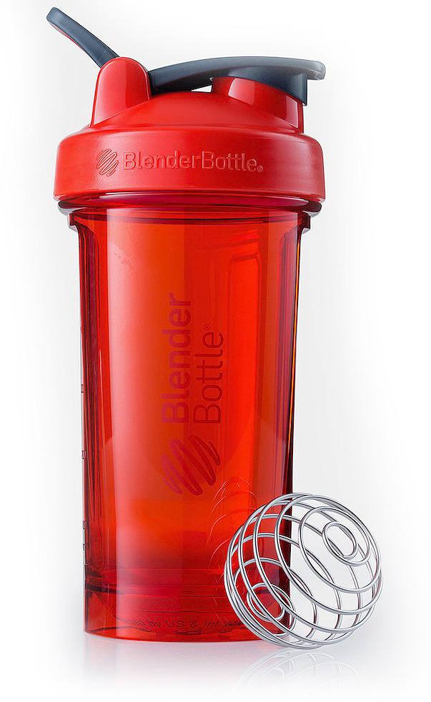 Шейкер спортивный BlenderBottle Pro24 Tritan Full Color, BB-PR24-FCRE, красный, 710 мл шейкер blenderbottle classic full color 591ml pebble grey bb cl20 fpgr