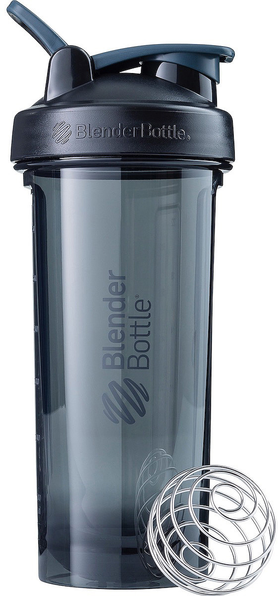 Шейкер спортивный BlenderBottle Pro28 Tritan Full Color, BB-PR28-FCBL, черный, 828 мл