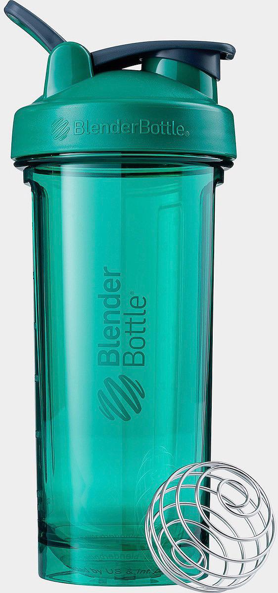 Шейкер спортивный BlenderBottle Pro28 Tritan Full Color, BB-PR28-FCEG, изумруд, 828 мл шейкер blenderbottle classic full color 591ml pebble grey bb cl20 fpgr