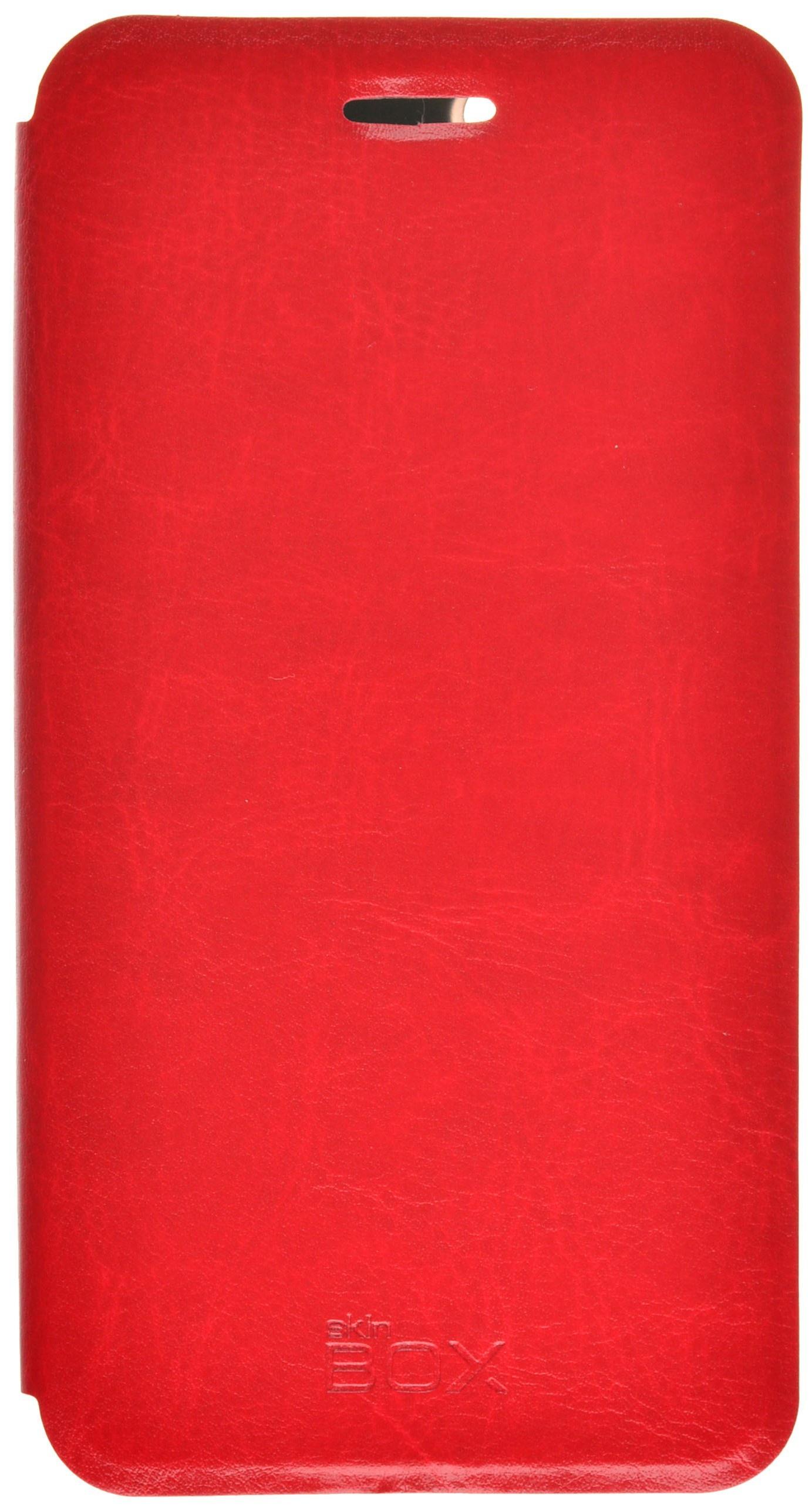 Чехол для сотового телефона skinBOX Lux, 4630042525375, красный чехол защитный skinbox samsung galaxy j7 prime galaxy on7 sm g600f