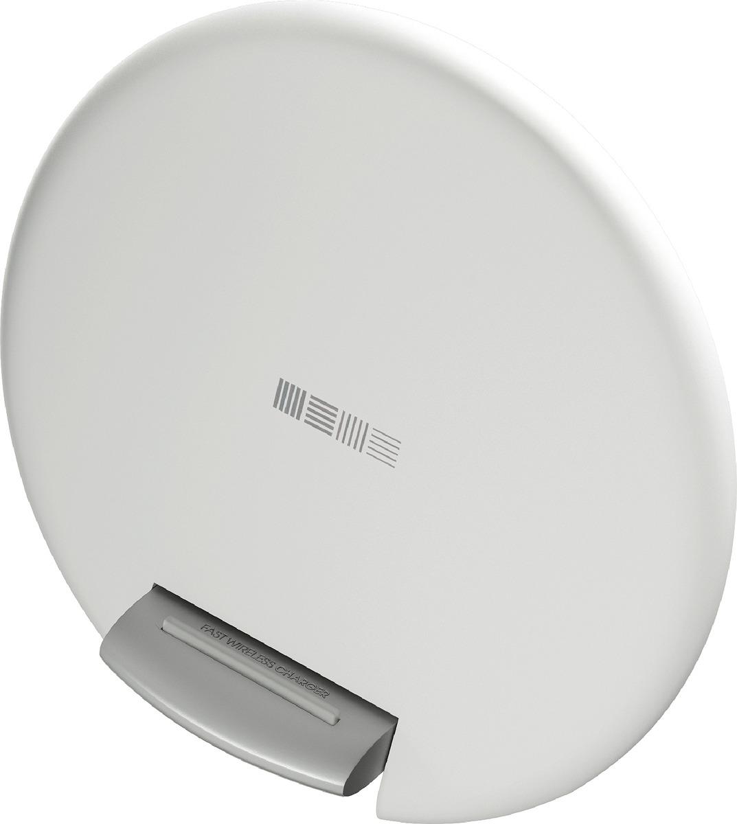 Беспроводное зарядное устройство Interstep QI 10W IS-TC-QISETW10W-000B201, белый сетевое зарядное устройство bb type c 2а 1 2м черн bb tc 20 14