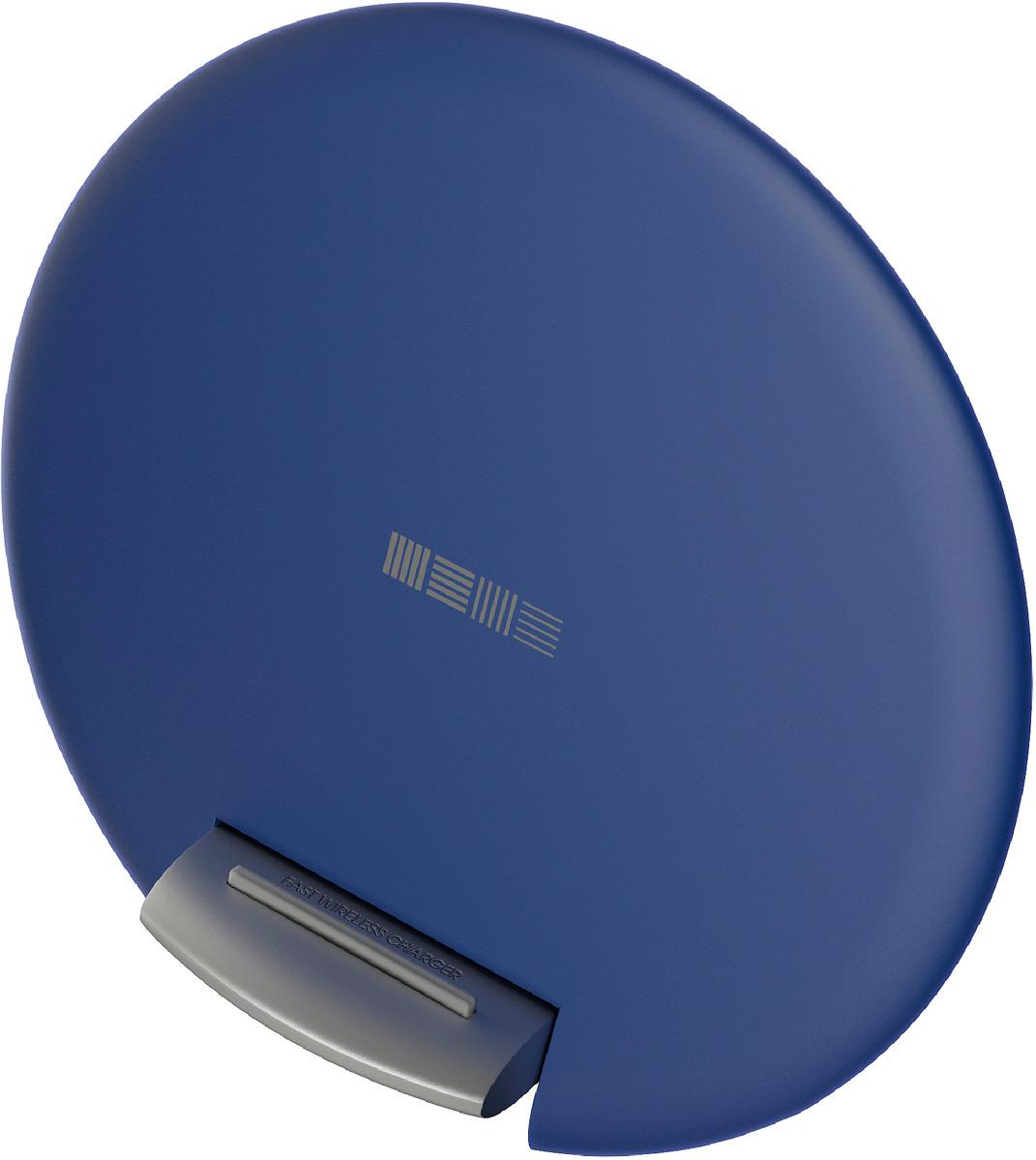 Беспроводное зарядное устройство Interstep QI 10W IS-TC-QISETB10W-000B201, темно-синий цена