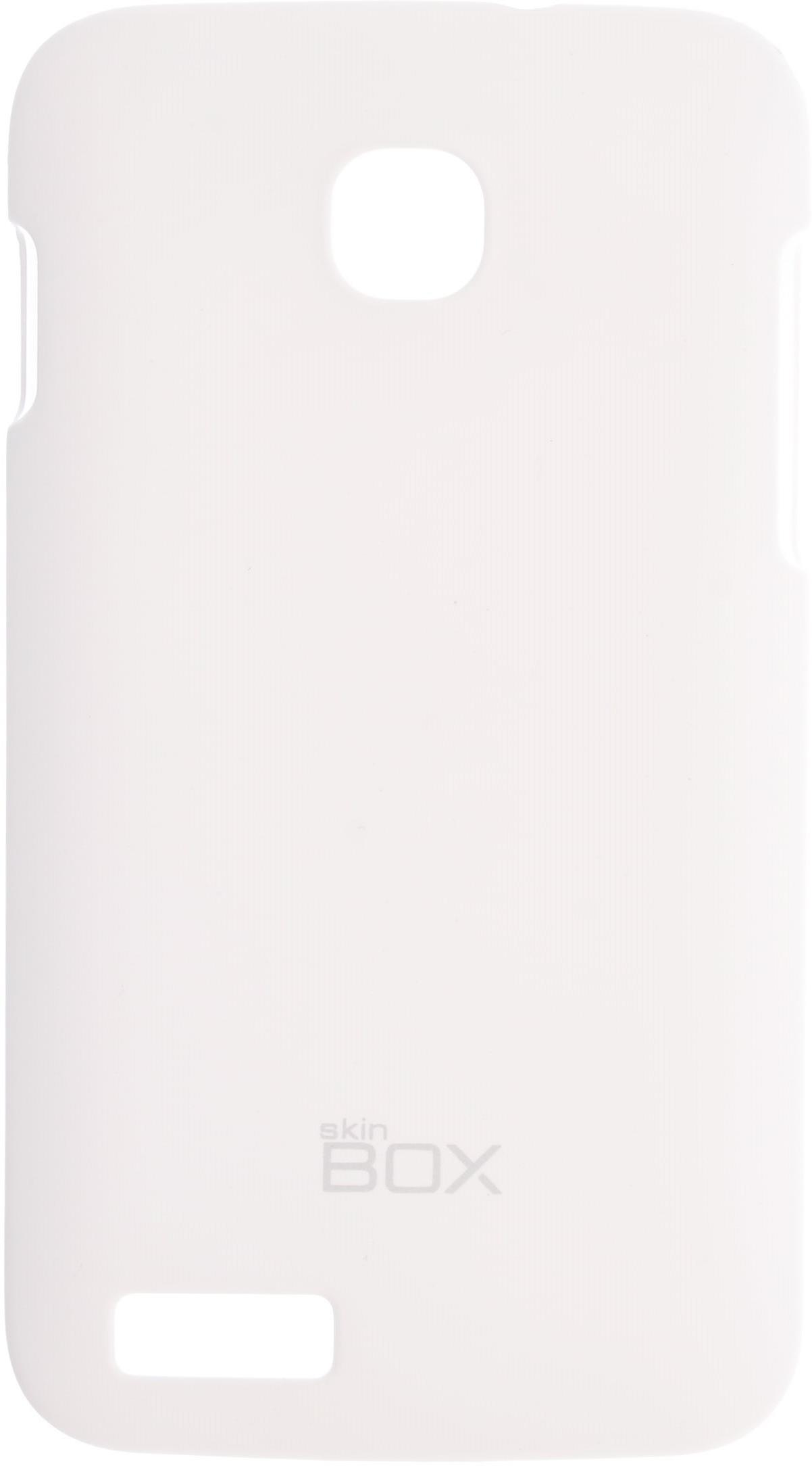 Чехол для сотового телефона skinBOX 4People, 4630042526860, белый все цены
