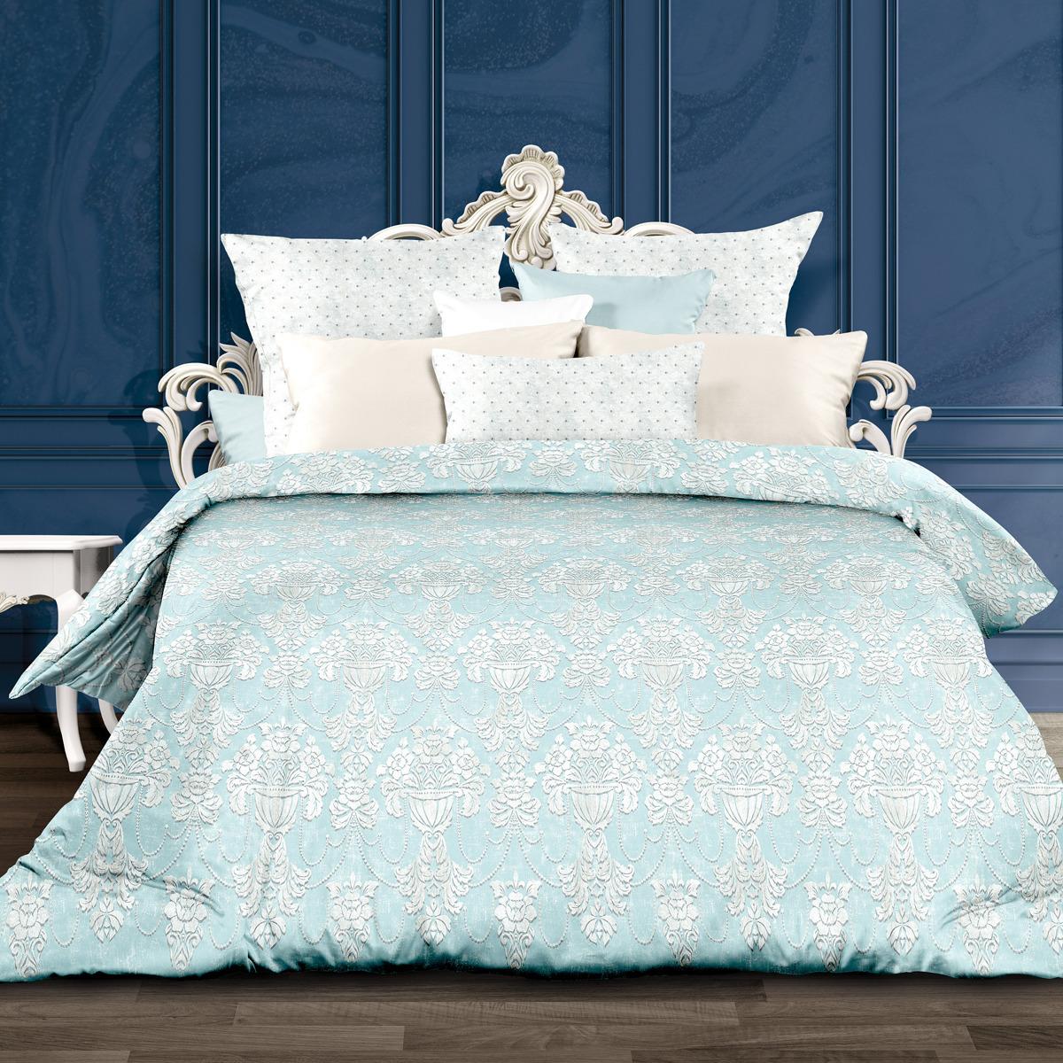 Комплект постельного белья Унисон Россини, 556880, 1,5-спальный, наволочки 70x70 комплект постельного белья унисон криолло