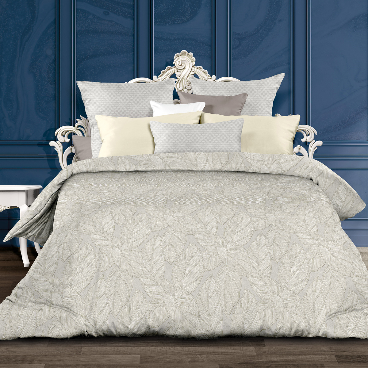 Комплект постельного белья Унисон Силенсио, 552221, 2-спальный, наволочки 70x70 комплект постельного белья унисон криолло
