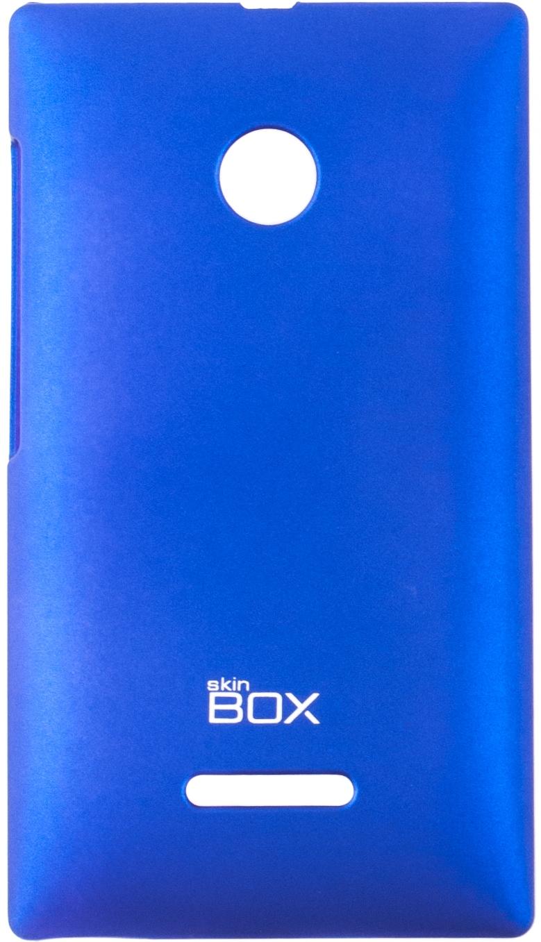 Чехол для сотового телефона skinBOX 4People, 4630042526365, синий стоимость