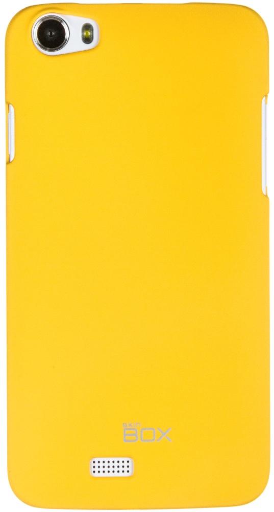 Чехол для сотового телефона skinBOX 4People, 4630042526518, желтый стоимость