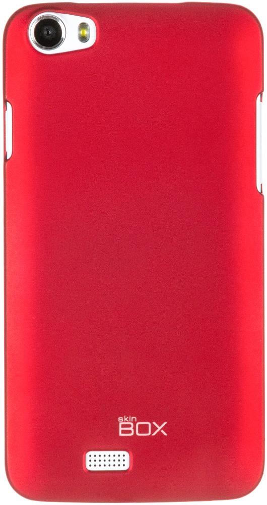 Чехол для сотового телефона skinBOX 4People, 4630042526525, красный аксессуар чехол asus zenfone 3 zc551kl skinbox 4people red t s azzc551kl 002 защитная пленка