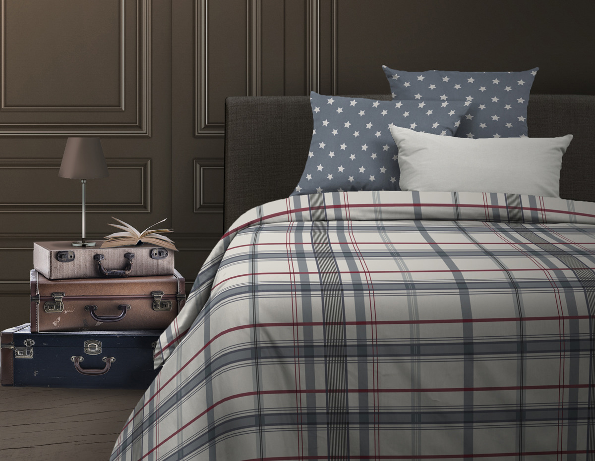 """Комплект постельного белья Wenge """"Bandstar"""", 513364, 1,5-спальный, наволочки 70x70"""