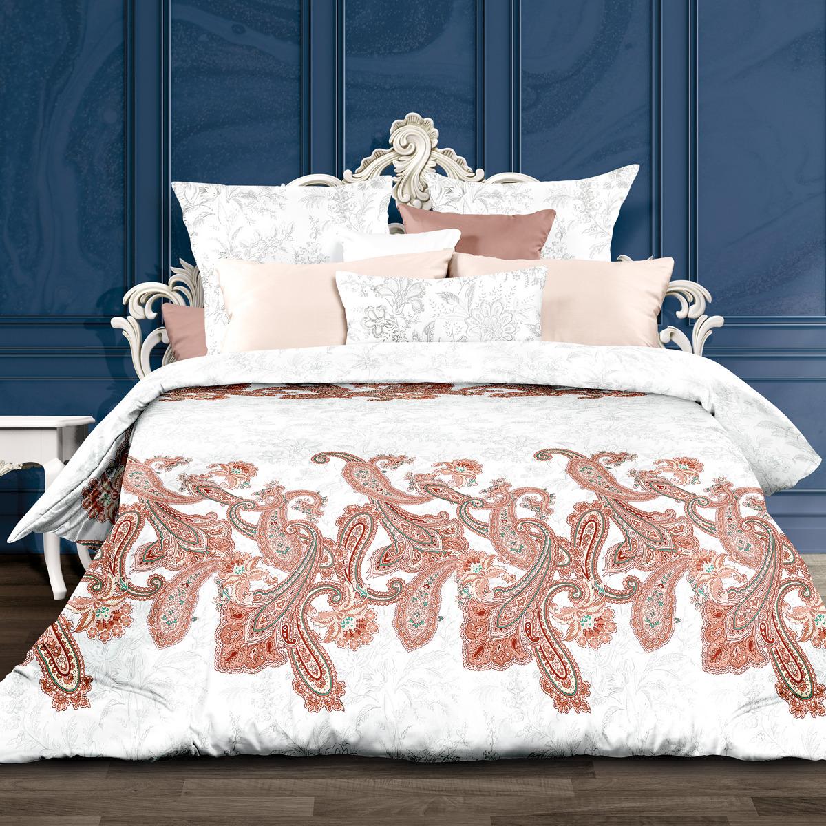 Комплект постельного белья Унисон Адель, 556882, 1,5-спальный, наволочки 70x70 комплект постельного белья унисон бархат
