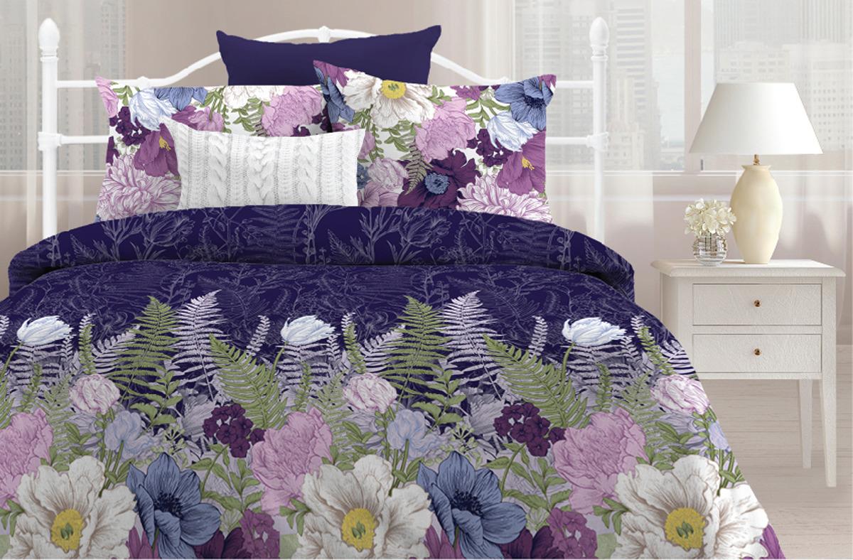 Комплект постельного белья Любимый дом Сказочная ночь, 551579, 2-спальный, наволочки 70x70 любимый дом полотенце махровое клео 35 70 любимый дом фиолетовый