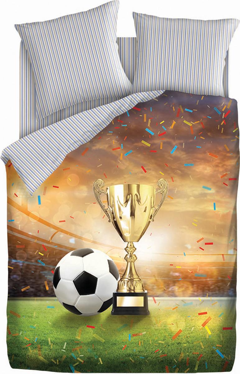 Комплект постельного белья 4You Football. Champions cup, 501714, 2-спальный, наволочки 70x70 цена