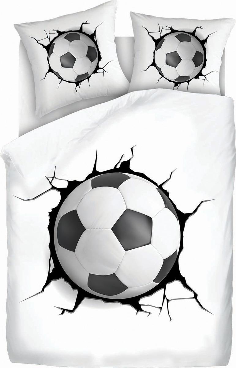 цена на Комплект постельного белья 4You Football, 501715, 2-спальный, наволочки 70x70