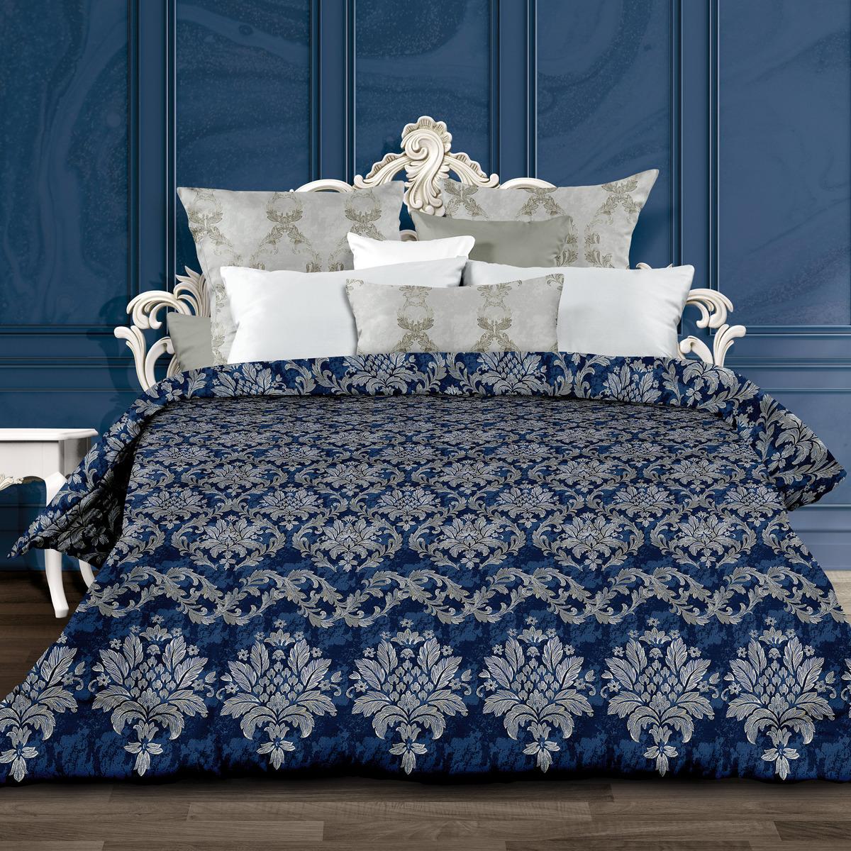 Комплект постельного белья Унисон Бенедикт, 556902, 2-спальный, наволочки 70x70 комплект постельного белья унисон бархат