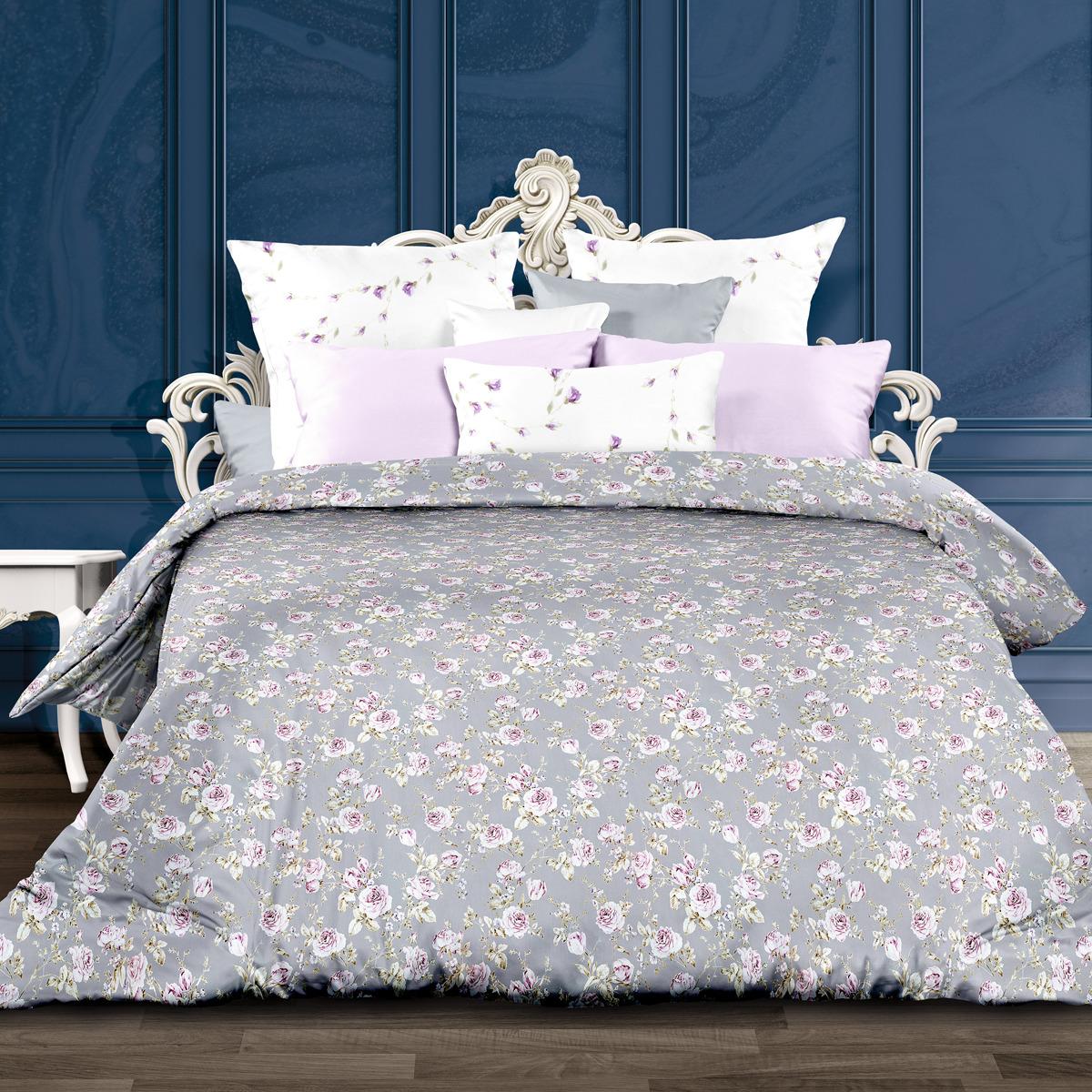 Комплект постельного белья Унисон Амелия, 556920, семейный, наволочки 70x70 комплект постельного белья унисон криолло