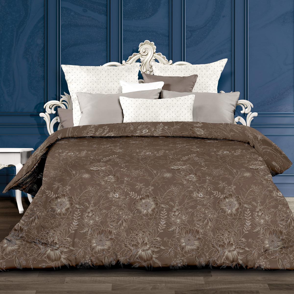 Комплект постельного белья Унисон Мадейра, 552827, евро, наволочки 70x70 комплект постельного белья унисон бархат