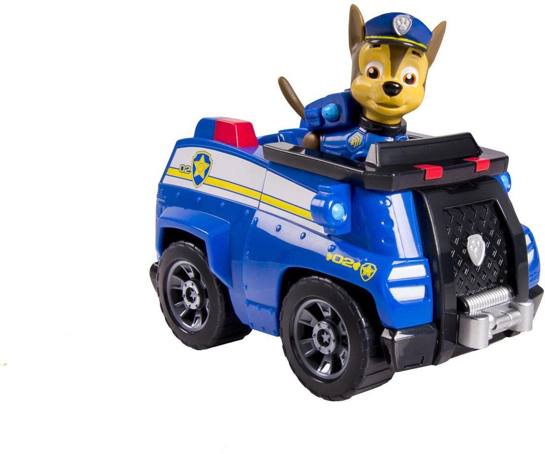 Paw Patrol Игровой набор Машинка спасателя и щенок Chase paw patrol игровой набор машинка спасателя и щенок rocky цвет зеленый серый оранжевый
