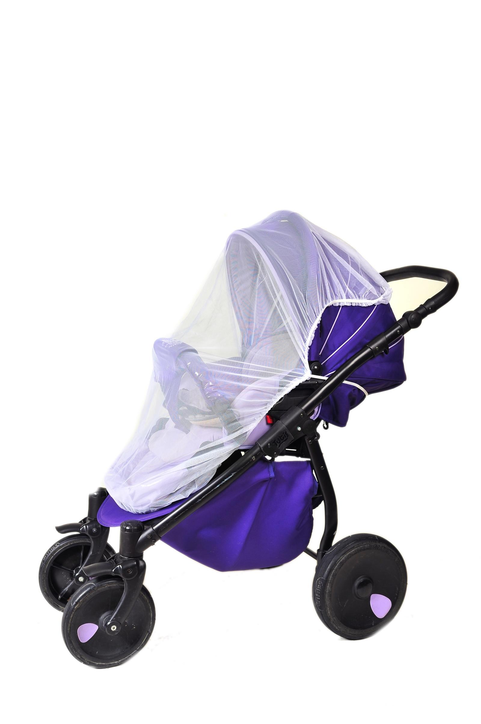 зонты для колясок Аксессуар для колясок Шумелки Москитная сетка для коляски Универсальная белый