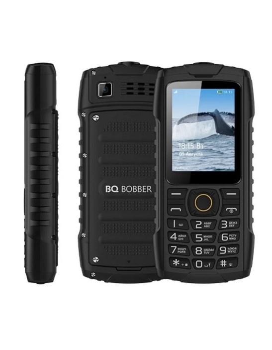 Мобильный телефон BQ BQM-2439 Bobber, 134565703734, черный стоимость