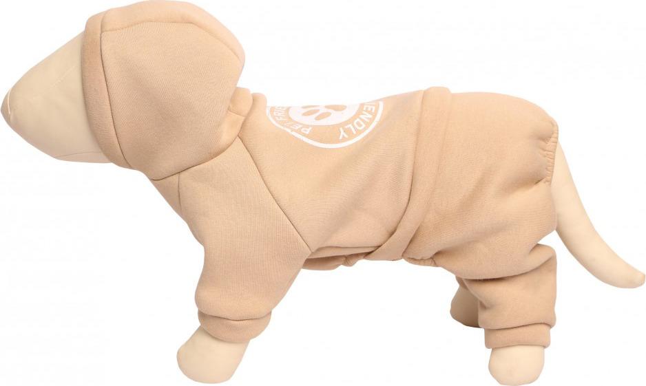 Спортивный костюм для собак Lion Manufactory, LMK-84, размер XL спортивный костюм мужской adidas mts wv light цвет черный dv2466 размер xl 56 58