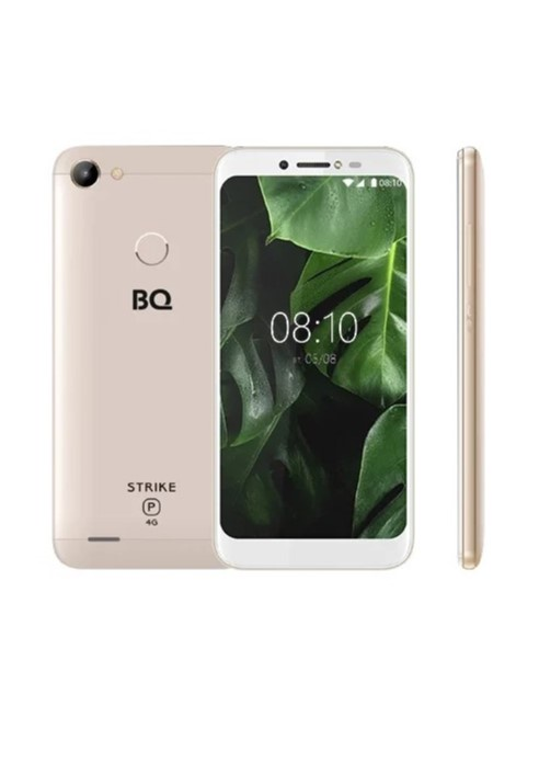цена Смартфон BQ Mobile BQS-5514L Strike Power, золотой в интернет-магазинах