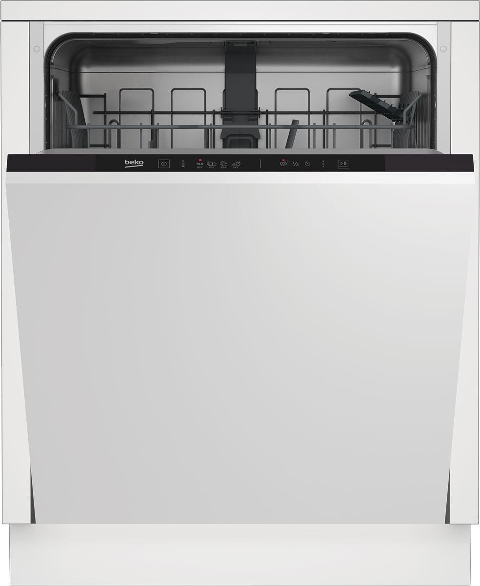 Посудомоечная машина Beko DIN 14W13, белый цена и фото