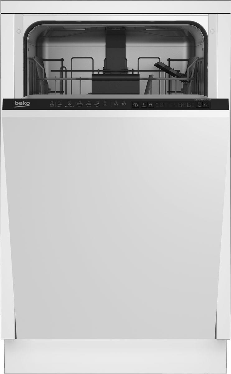 Встраиваемая посудомоечная машина Beko DIS 26012, белый Beko