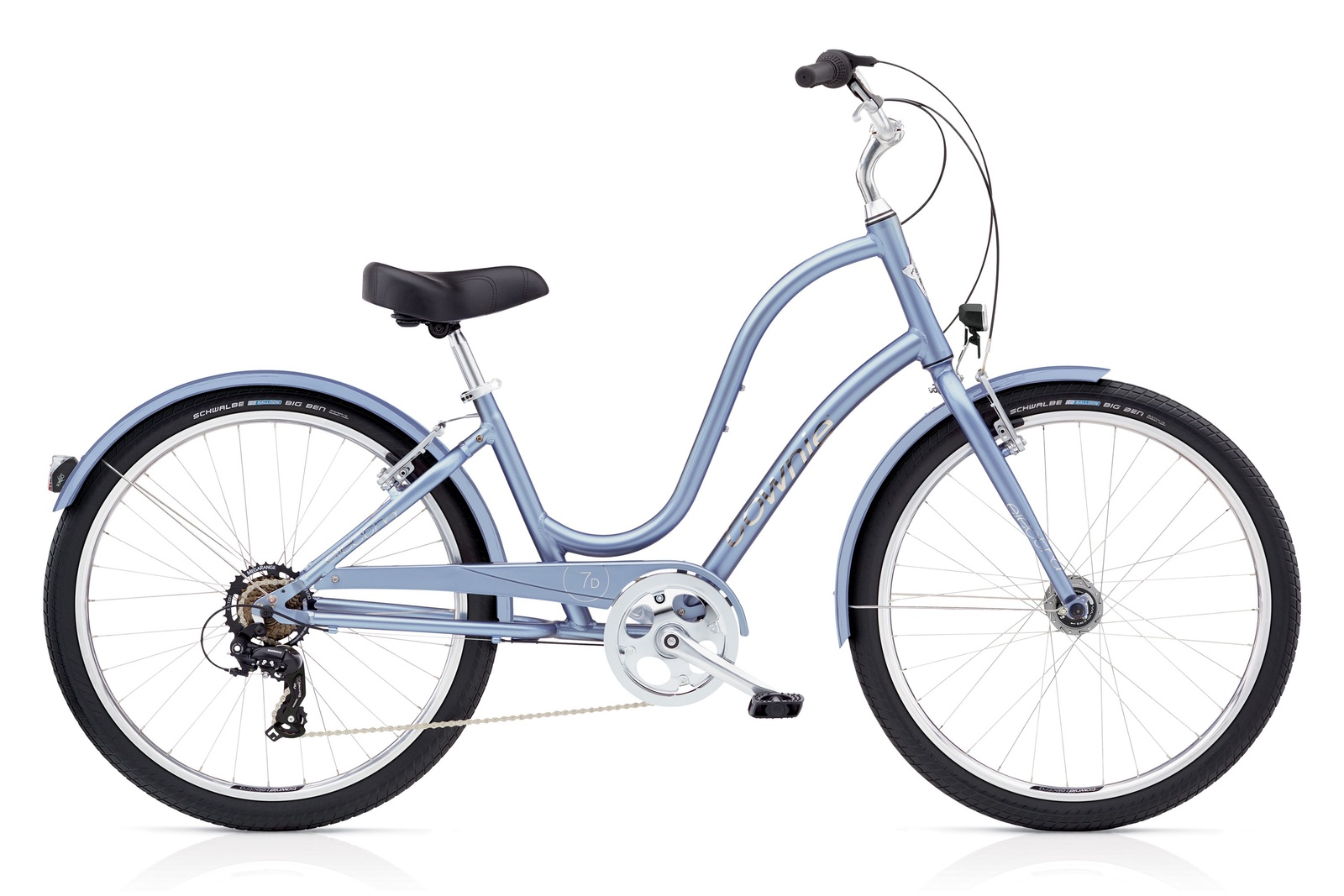 Велосипед Electra Bicycle Company Townie Original 7D Icy Blue, 539988, сиреневый
