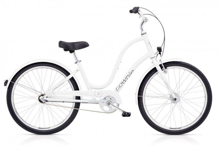 Велосипед Electra Bicycle Company Townie Original 3i EQ White, 539248, белый