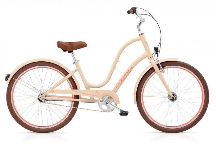 Велосипед Electra Bicycle Company Townie Original 3i EQ Nude, 539247, бежевый