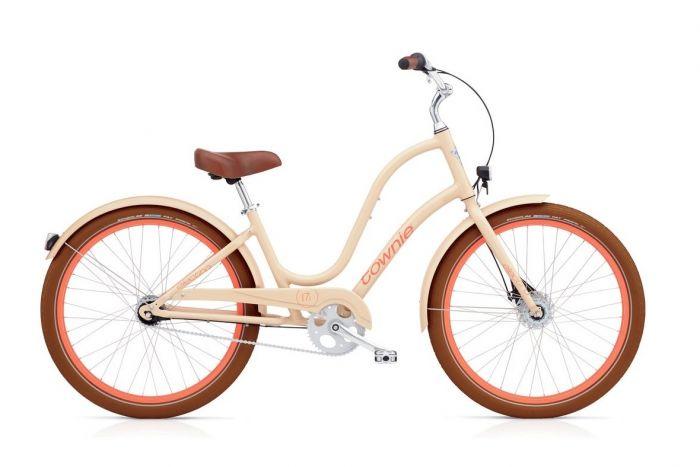 Велосипед Electra Bicycle Company Electra Townie Balloon 7i EQ Nude, 537760, бежевый цены