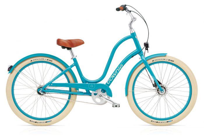 цена на Велосипед Electra Bicycle Company Townie Balloon 3i EQ azure, 286103, голубой