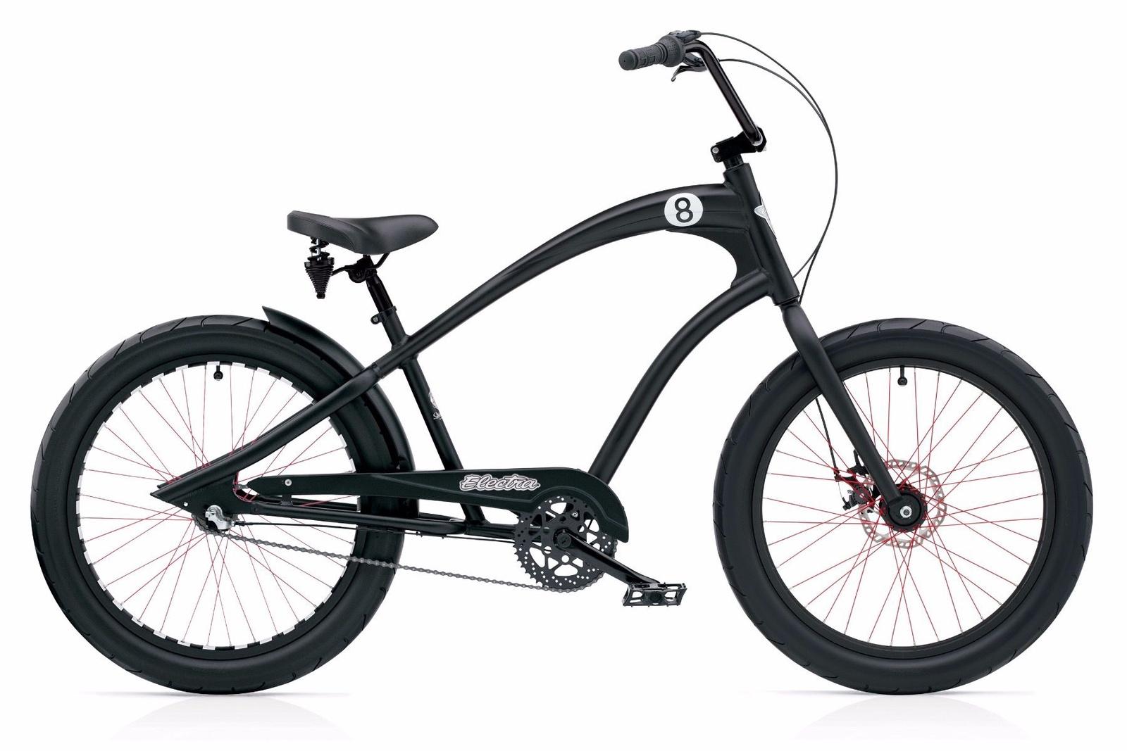 Велосипед Electra Bicycle Company Straight 8 3i '24, 268212, черный
