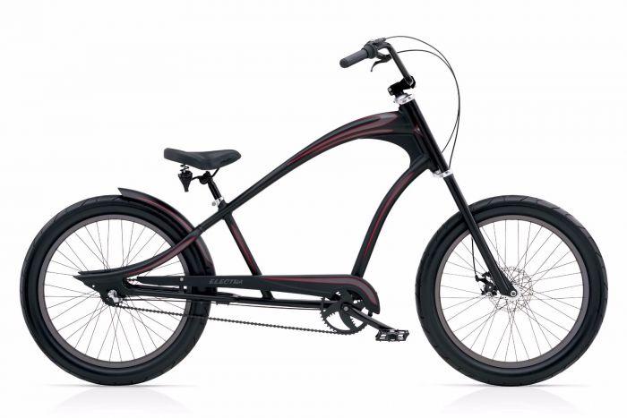 Велосипед Electra Bicycle Company Revil 3i, 528815, черный