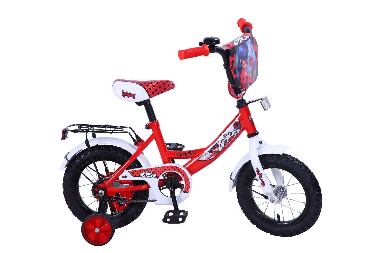 Велосипед LADY BUG ST12004-A, красный