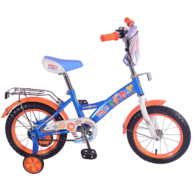 Велосипед ФИКСИКИ ST14026-GW, синий цена