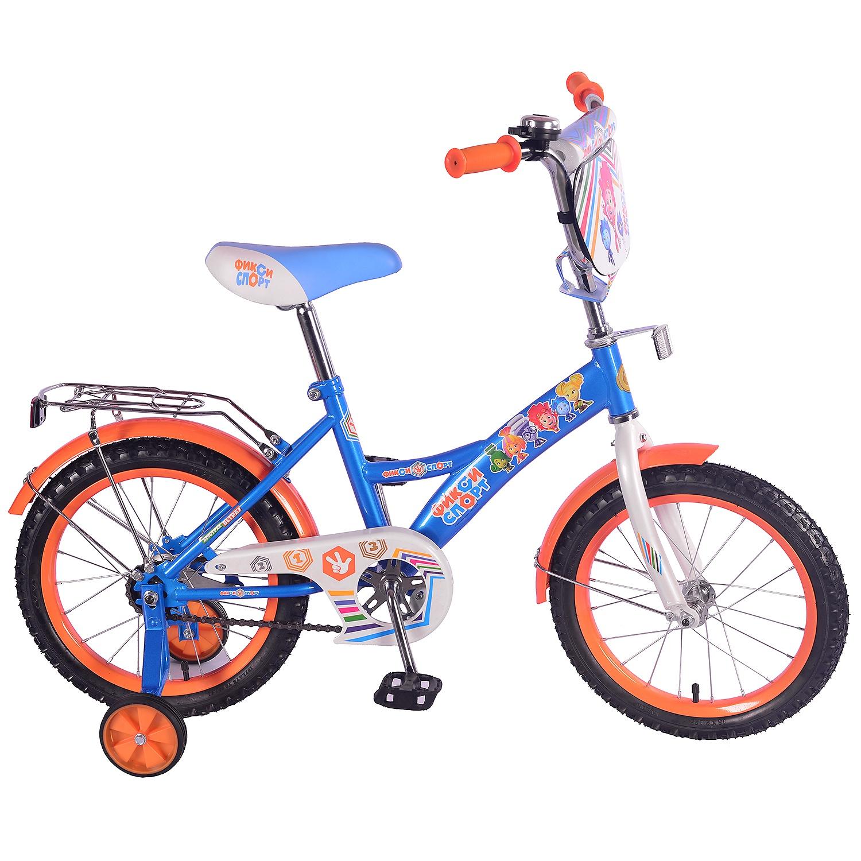 Велосипед ФИКСИКИ ST16032-GW, синий цена