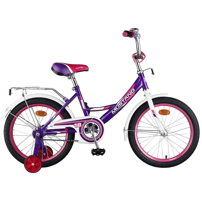 Велосипед Mustang ST18025-A, фиолетовый цена
