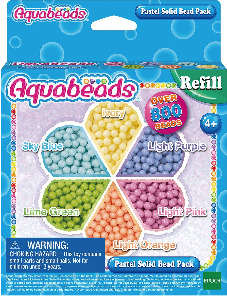 мозаика aquabeads набор бусин студия новичка Набор для изготовления игрушек Aquabeads Бусины пастельных тонов, 31360